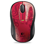 Logitech Wireless Mouse M305 (Red Flourish)