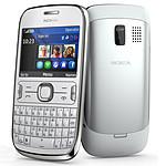 Nokia Asha 302 Blanc