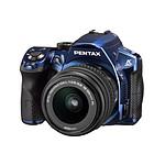 Pentax K-30 Bleu + Objectif DA L 18-55mm f/3.5-5.6 AL