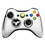 Microsoft Wireless Controller Chrome Series Argent (Xbox 360)