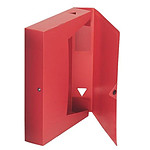 Boîte de classement 24.5 x 33 cm Dos 40 mm Rouge