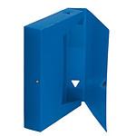 Boîte de classement 24.5 x 33 cm Dos 40 mm Bleu
