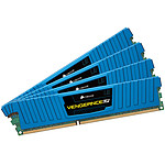 Corsair Vengeance Low Profile Series 16 Go (4x 4 Go) DDR3 2133 MHz CL11 Bleu