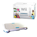 Nintendo Wii Party Pack Blanc  - Edition Family + Undercontrol Balance Board