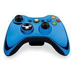 Microsoft Wireless Controller Chrome Series Bleu (Xbox 360)