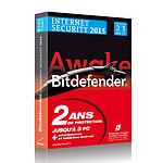 Bitdefender Internet Security 2013 - Licence 2 ans 3 postes