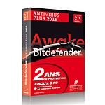 Bitdefender Antivirus Plus 2013 - Licence 2 ans 3 postes