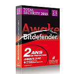 Bitdefender Total Security 2013 - Licence 2 ans 3 postes