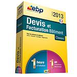 EBP Devis et Facturation Bâtiment Classic 2013 + Services VIP