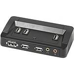 Réplicateur de ports pour ordinateur portable (Ethernet / eSATA / 10x USB / Jack)