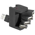 Hub 4 ports rotatifs USB 2.0