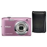 Nikon Coolpix S2600 Rose + ALM2300BV
