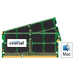 Crucial for Mac SO-DIMM 4 Go (2 x 2 Go) DDR3 1333 MHz CL9