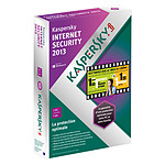 Kaspersky Internet Security 2013 - Licence 1 poste 1 an (français, WINDOWS)