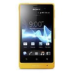 Sony Xperia go Jaune