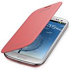 Samsung EFC-1G6FP - Etui Flip Cover Rose pour Galaxy SIII