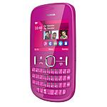 Nokia Asha 200 Rose