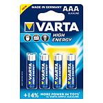 Varta High Energy AAA 4 piles