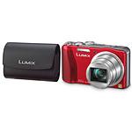 Panasonic Lumix DMC-TZ30 Rouge + Etui DMW-PSS33 Noir