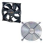 be quiet! Silent Wings 2 120mm + Grille de ventilateur 120mm
