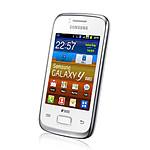Samsung Galaxy Y Duos GT-S6102 Blanc