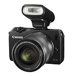 Canon EOS M Noir + Objectif EF-M 18-55 mm f/3,5-5,6 IS STM + Speedlite 90EX