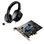 Creative Sound Blaster Recon3D PCI-E (Bulk) + Creative Sound Blaster Tactic3D Alpha