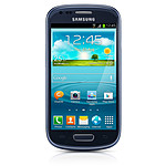 Samsung Galaxy SIII Mini GT-i8190 Pebble Blue 8 Go