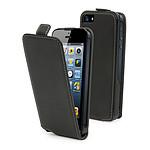 Muvit Etui clapet Slim pour iPhone 5 Noir