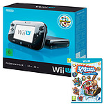Nintendo Wii U 32 Go Premium Pack + Nintendo Land + Family Party 30 Great Games Obstacle Arcade