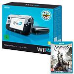 Nintendo Wii U 32 Go Premium Pack + Nintendo Land + Assassin's Creed III