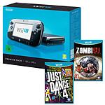Nintendo Wii U 32 Go Premium Pack + Zombie U + Just Dance 4