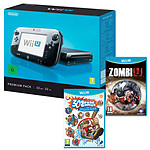 Nintendo Wii U 32 Go Premium Pack + Zombie U + Family Party 30 Great Games Obstacle Arcade