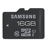 Samsung microSDHC Pro 16 Go Noir