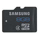 Samsung microSDHC 8 Go Noir
