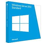 Microsoft Windows Server 2012 Standard OEM 64 bits (français) - Licence 2 processeurs physiques