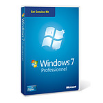 Microsoft Windows 7 Professionnel SP1 OEM 32/64 bits Get Genuine Kit