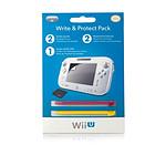 PDP Ecran de Protection + Stylets (Wii U)