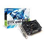 MSI GeForce GTX 650 N650-2GD5/OC 2 GB