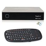 TizzBird F20 + Mini Clavier sans-fil + Micro Dongle Wi-Fi