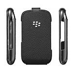 BlackBerry Leather Flip Shell Noir (ACC-46594-201)