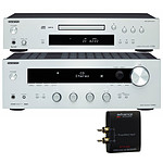 Onkyo TX-8030 + C-7030 Argent + Advance Acoustic WTX 500