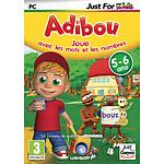 Adibou 5/6 ans Joue avec Les Mots et les Nombres (PC)