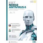 ESET NOD32 Antivirus 6 - Licence 1 an 3 postes (français, WINDOWS)