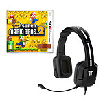 New Super Mario Bros 2 + Tritton Kunai Stereo Headset (Nintendo 3DS/2DS)