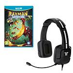 Rayman Legends + Tritton Kunai Stereo Headset (Wii U)