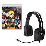 Naruto Shippuden : Ultimate Ninja Storm 3 + Tritton Kunai Stereo Headset (PS3)
