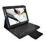 Heden Housse Business Noir pour Samsung Galaxy Tab 10.1 2