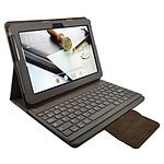 Heden Housse Business Marron pour Samsung Galaxy Tab 10.1 2