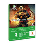 Carte Xbox LIVE Gold 3 mois + 1 offert - Gears of War Judgment (Xbox 360)